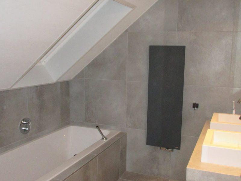 plameco plafond badkamer