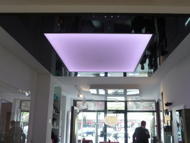 spandplafond met sfeerverlichting