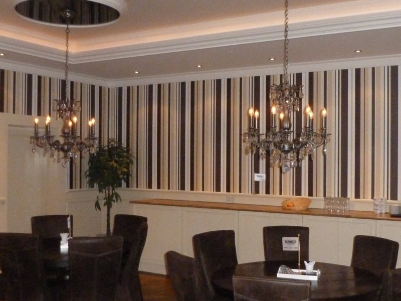 plameco spanplafond met verlichting