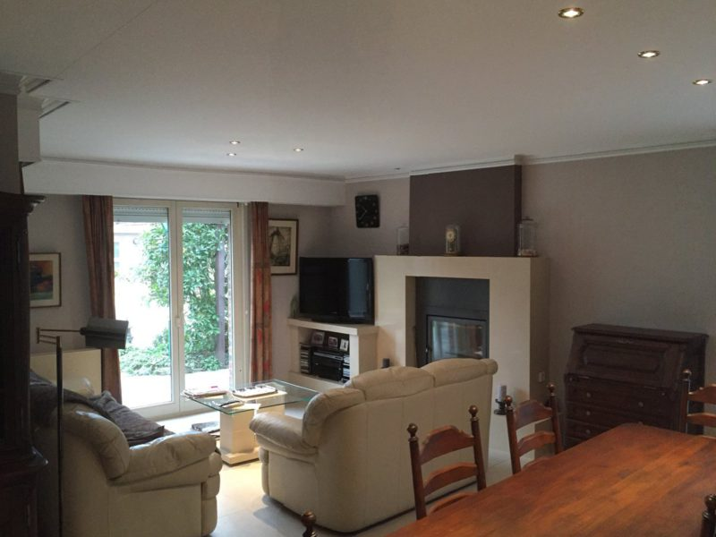 spanplafond realisatie woonkamer
