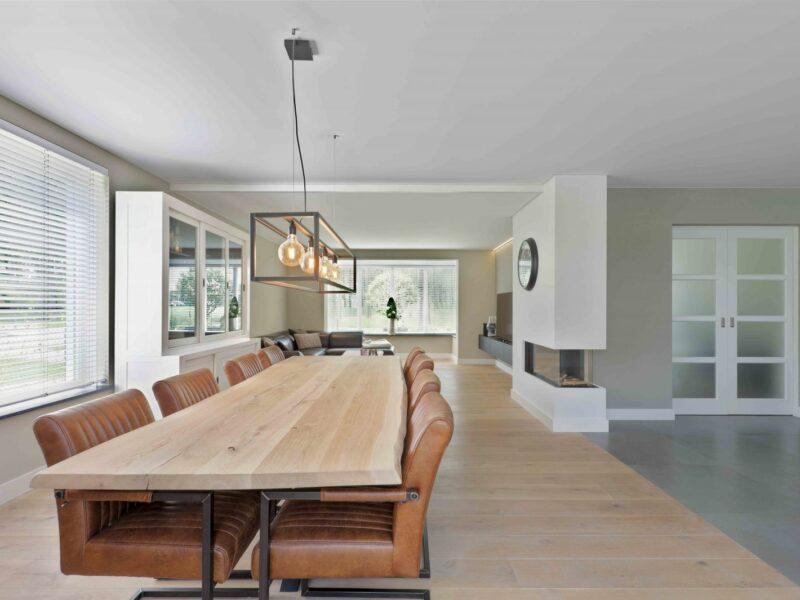 realisatie spanplafond woonkamer